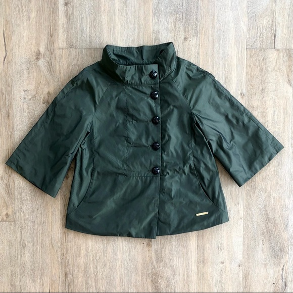 Vintage Thomas Burberry Cropped Trench Jacket